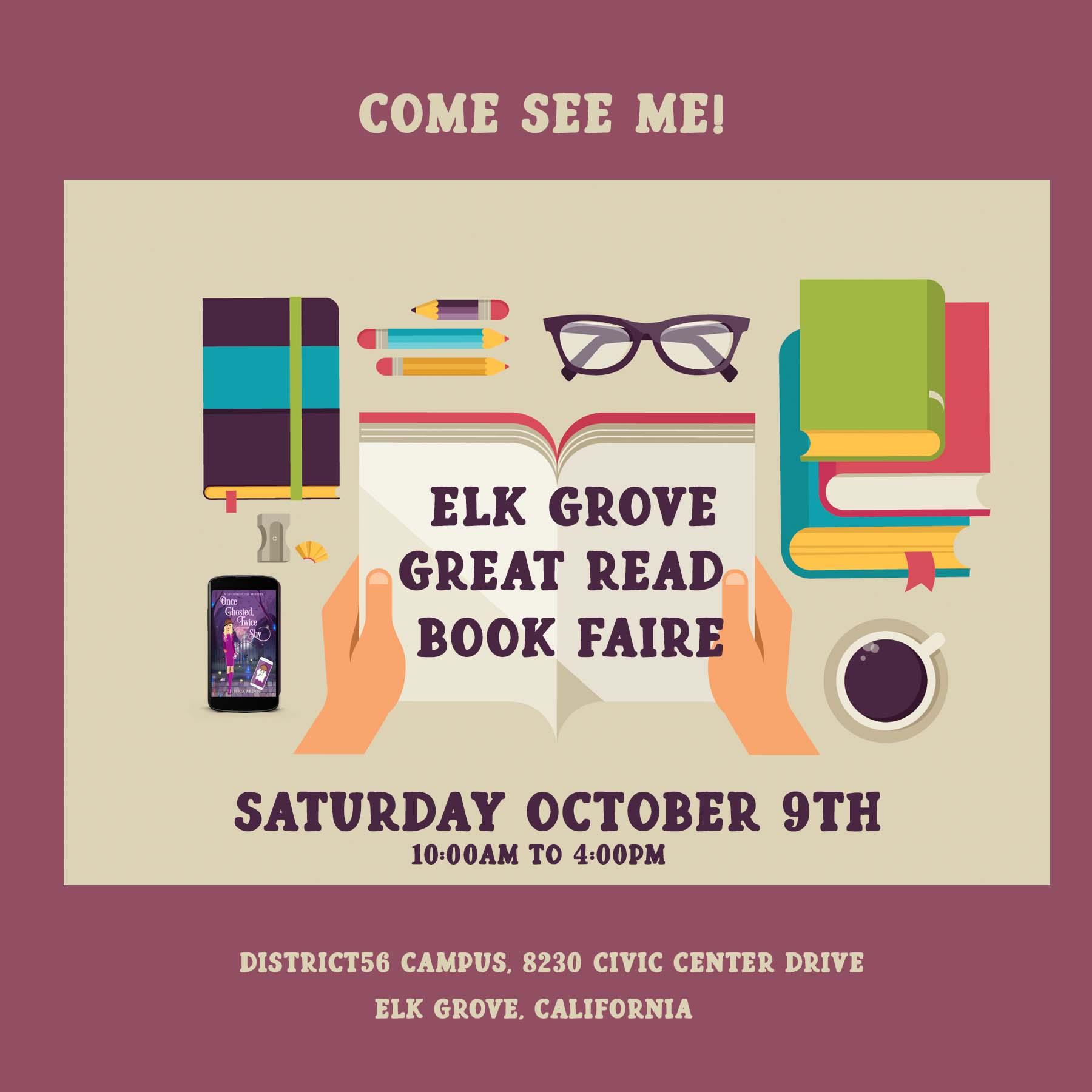 Elk Grove Great Read Book Faire